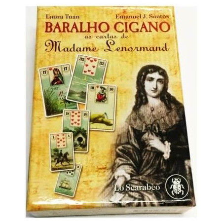 baralho cigano – as cartas de madame lenormand