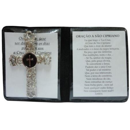 cruz de são cipriano – fundo preto