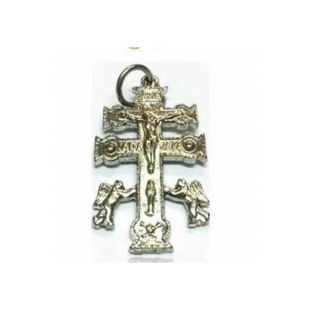 cruz de caravaca prateada – 2,5cm