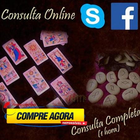 Consulta de Tarot por Telefone, Skype ou Facebook