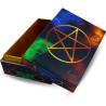 Caixa madeira Pentagrama 15x10cm
