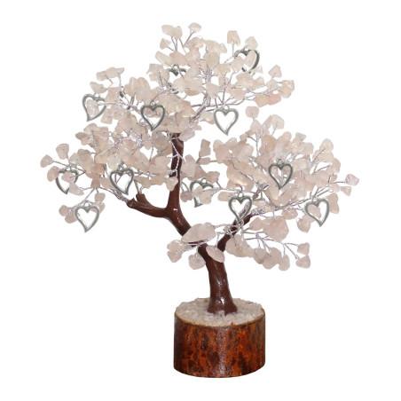 Árvore do Amor - Quartzo Rosa 20x15