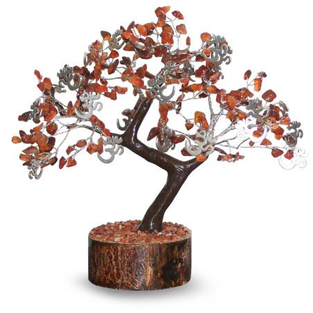 Árvore da Espiritualidade - Cornalina e Om