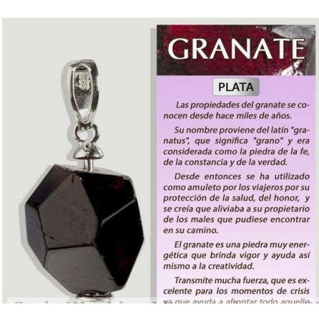 Pingente - Granada Facetada Geométrica