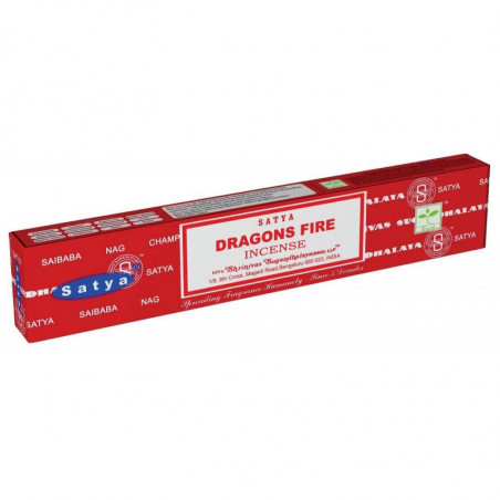 Incenso Dragons Fire 15 Gr Satya