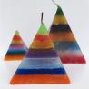 Vela Pirâmide 7 cores