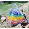 Pirâmide 7 chakras - Chip
