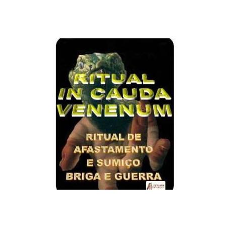 ritual in cauda venenum